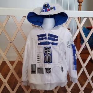 Size 4 boys Disney store star wars hoodie